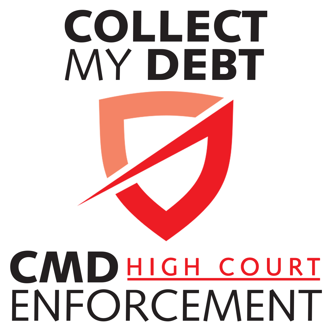 Collect My Debt Door Logo
